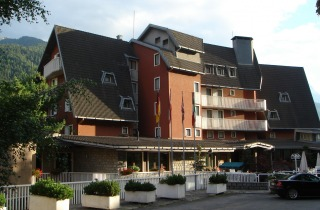 Esterno dell'Hotel Mirella