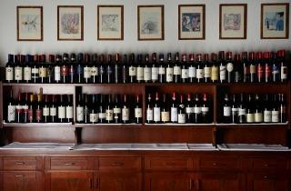 La riserva vini dei Mirella